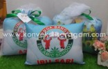 Bantal Kotak Bunga Bangsa Islamic School